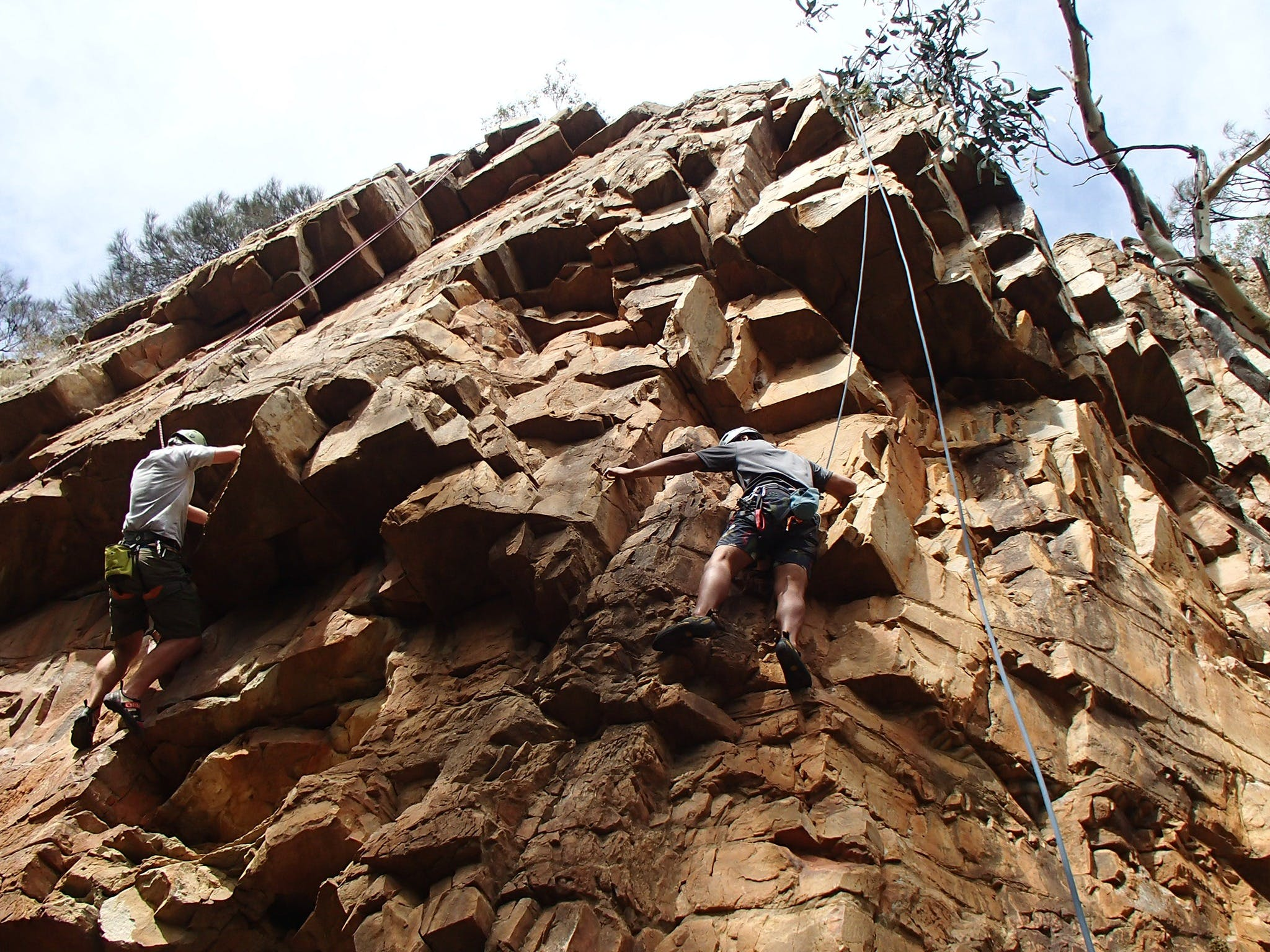 Rock Climbing in Morialta - Accommodation Sydney