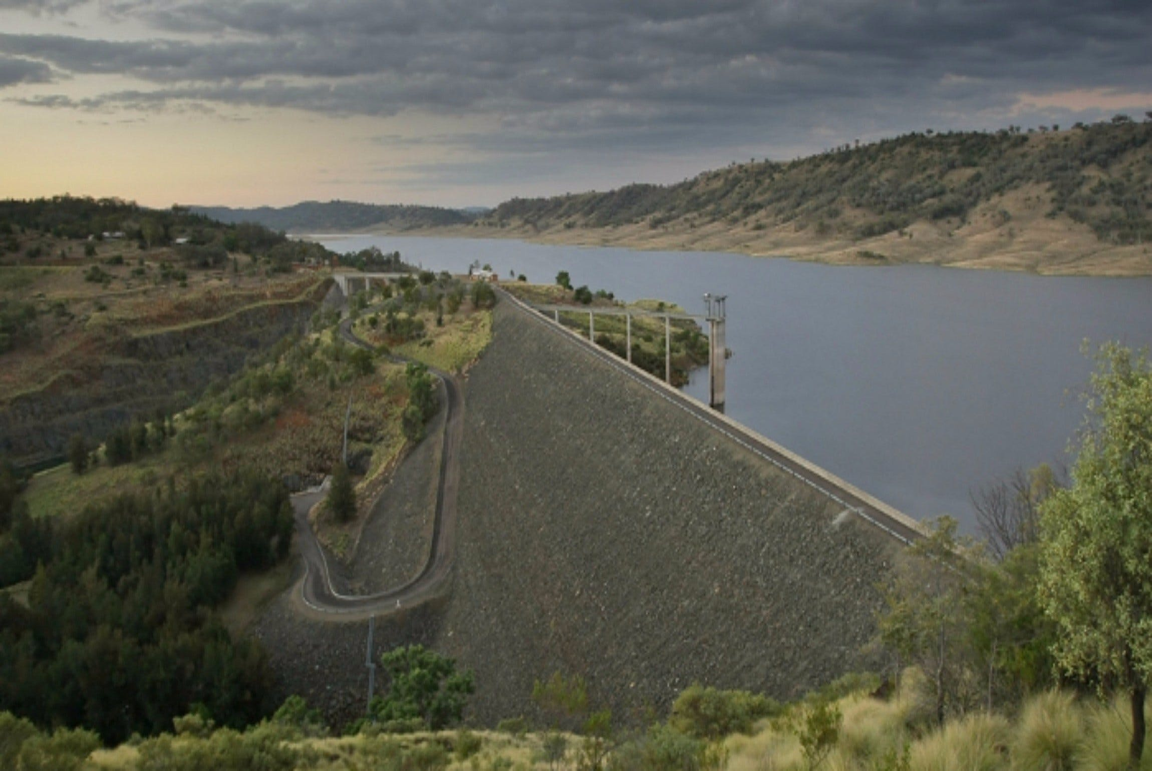 Split Rock Dam - Accommodation Sydney
