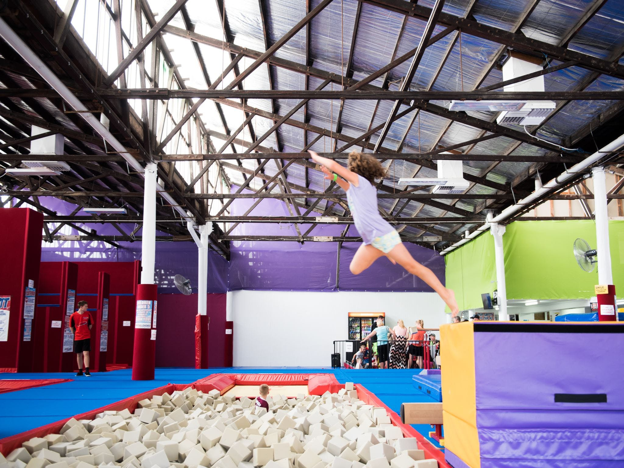 Springloaded Trampoline - Accommodation Sydney