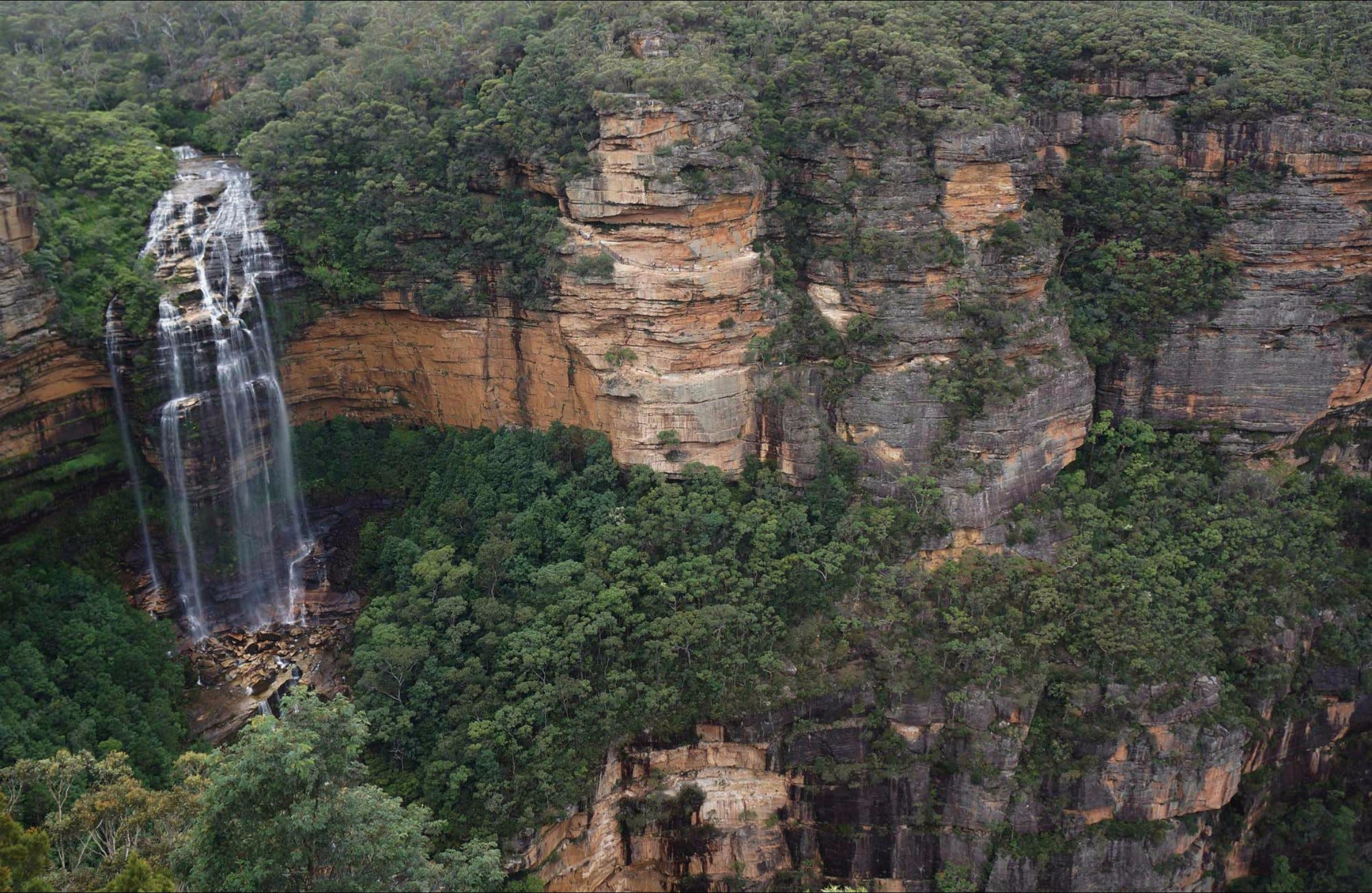 Wentworth Falls Lookout - Accommodation Sydney