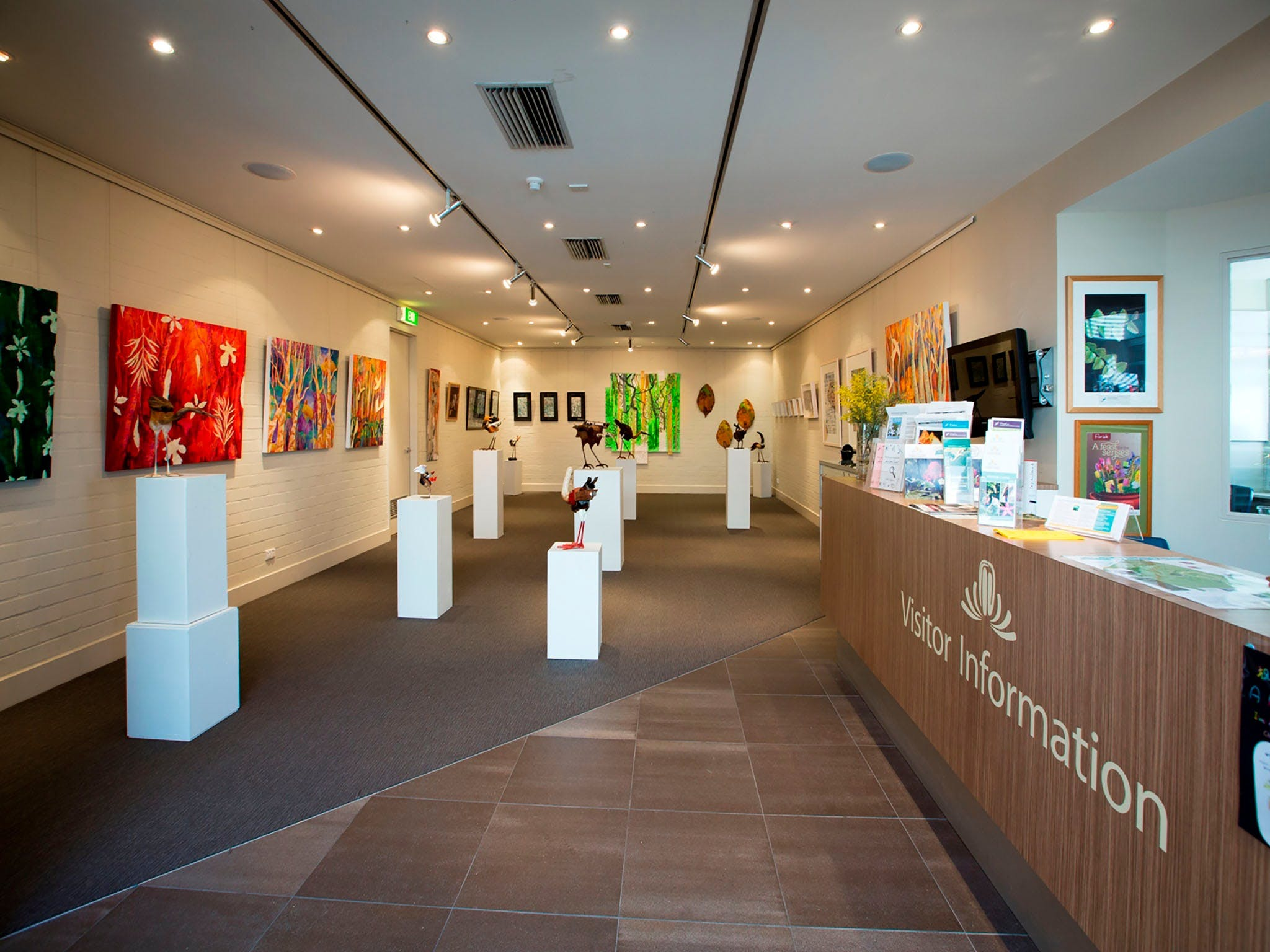 Australian National Botanic Gardens Visitor Centre Gallery - Accommodation Sydney