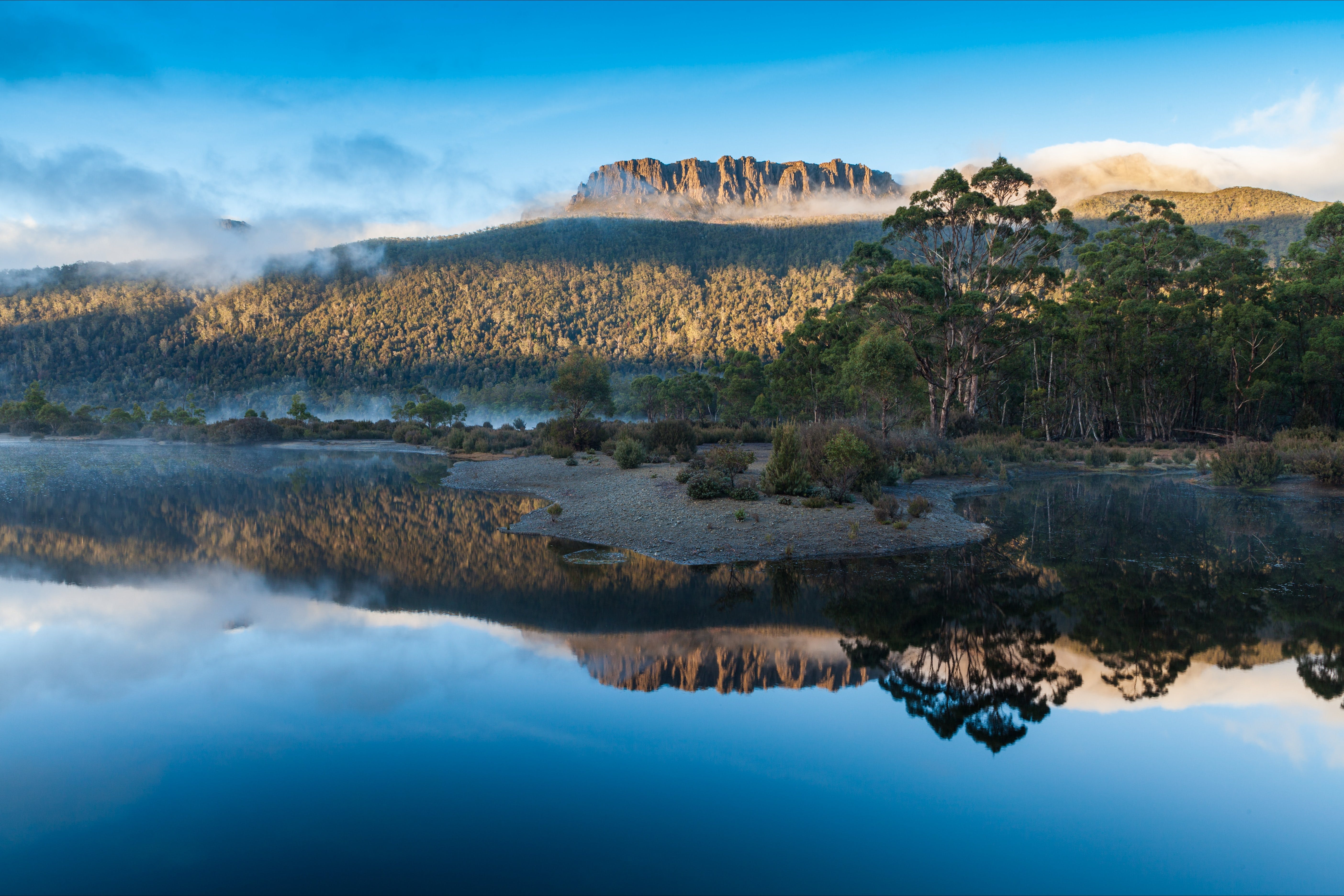 Lake St Clair Cradle Mountain  - Lake St Clair National Park - Accommodation Sydney
