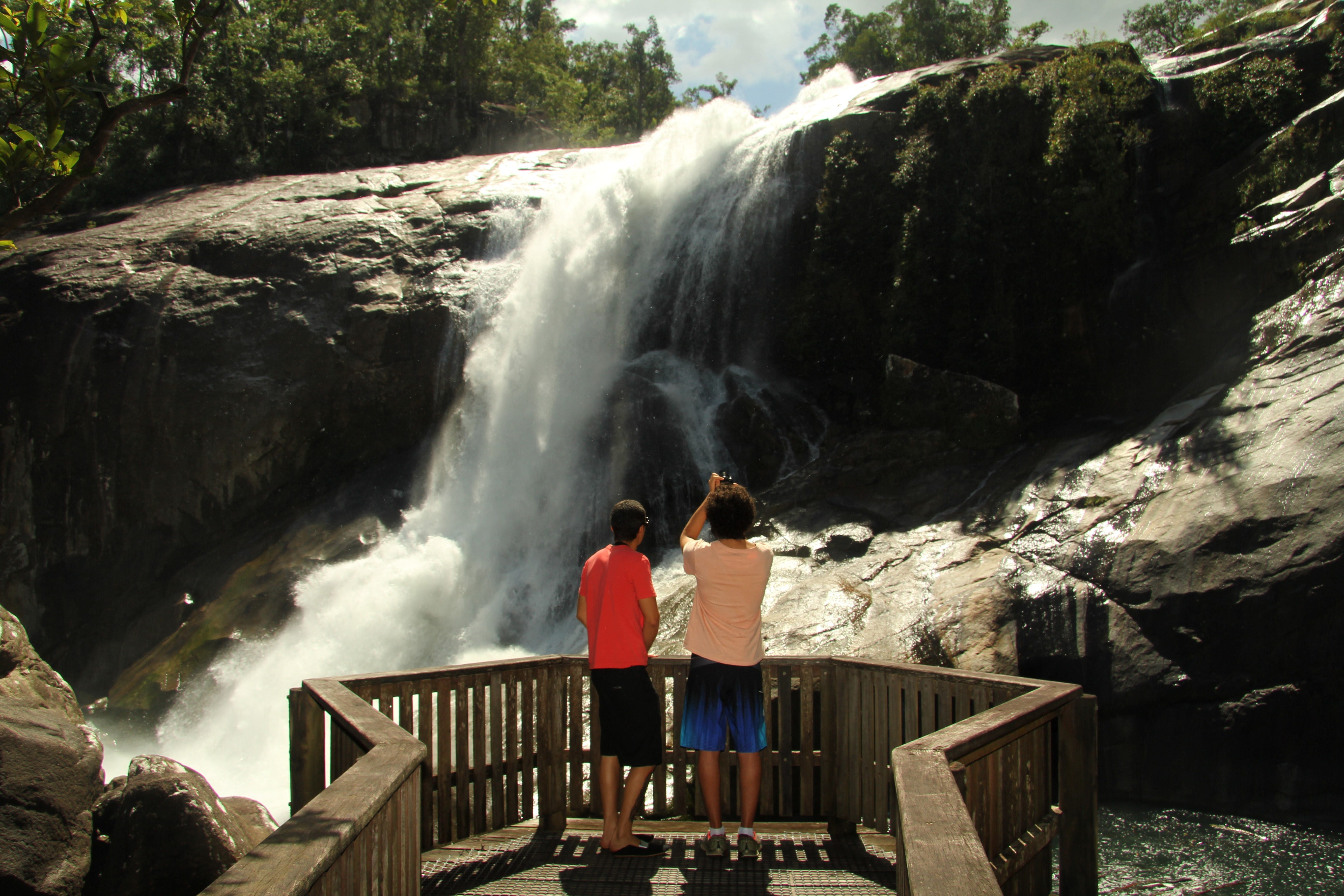 Murray Falls Girramay National Park - Accommodation Sydney
