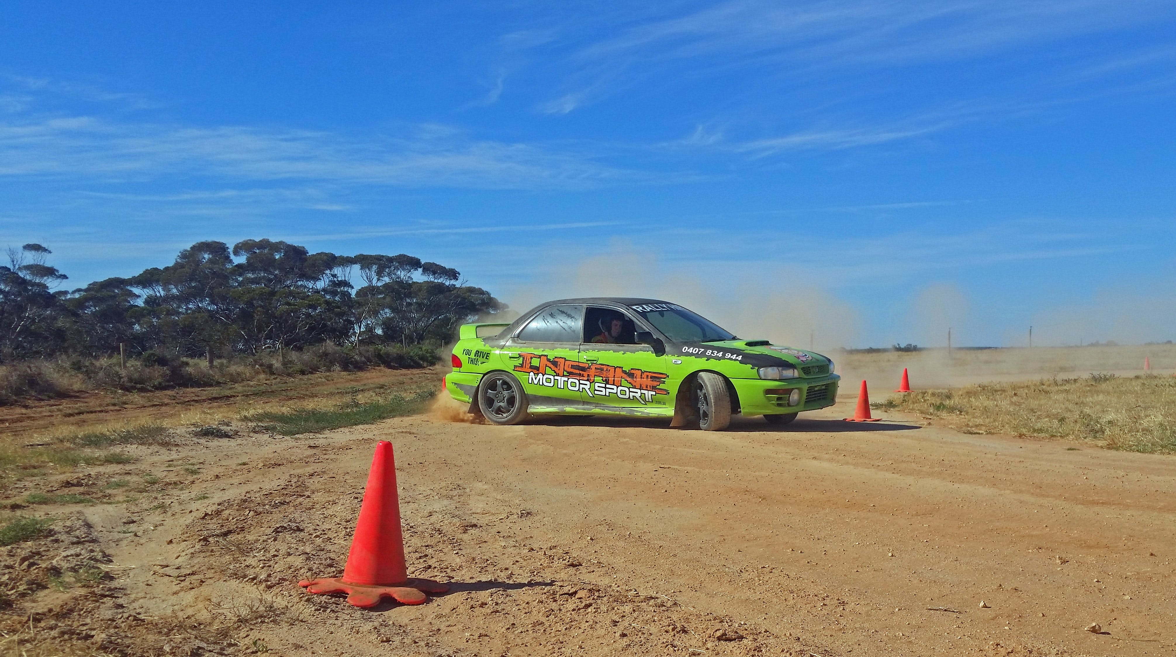 Rally Driving Loveday - Accommodation Sydney