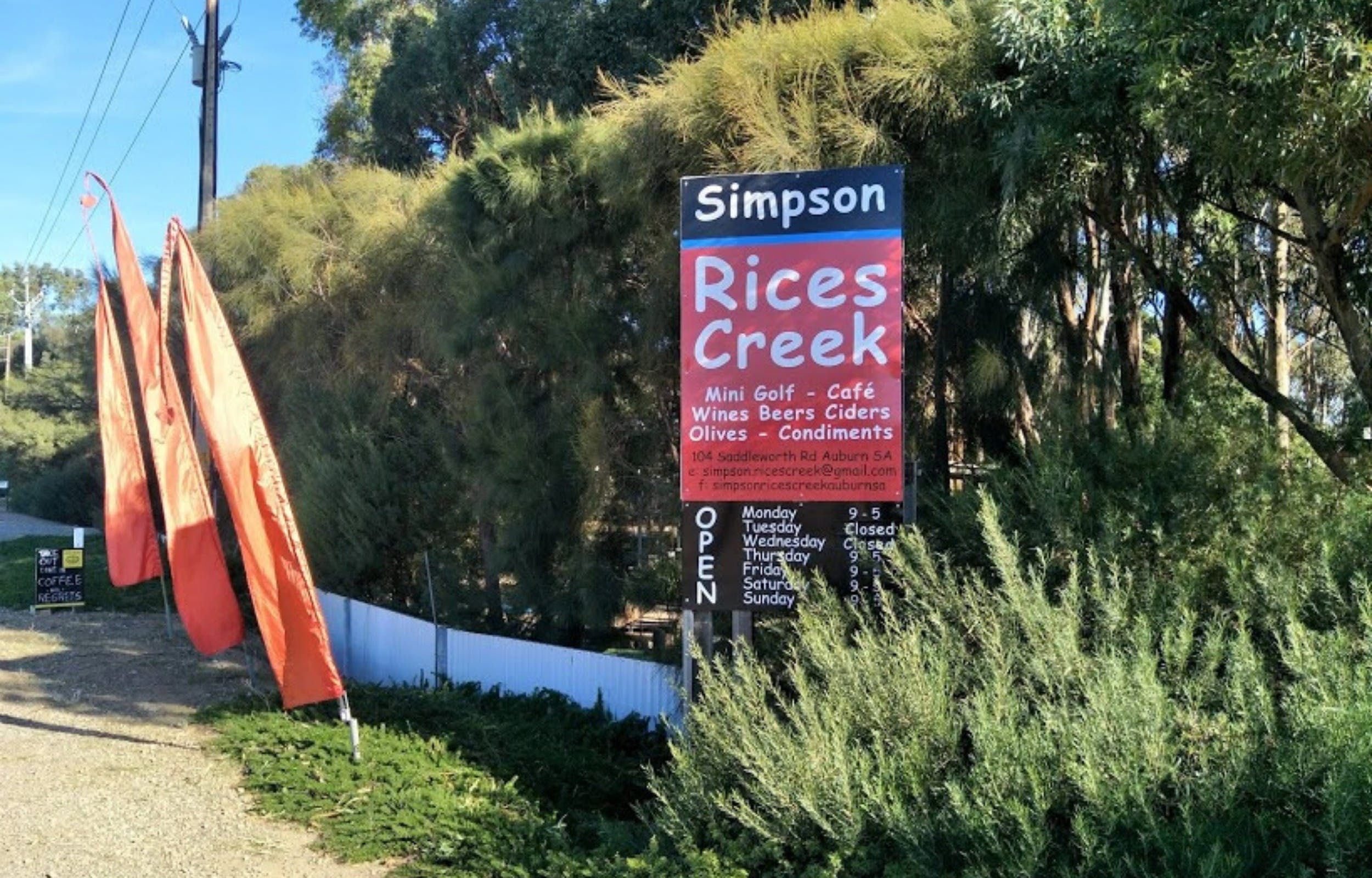 Simpson Rices Creek - Accommodation Sydney