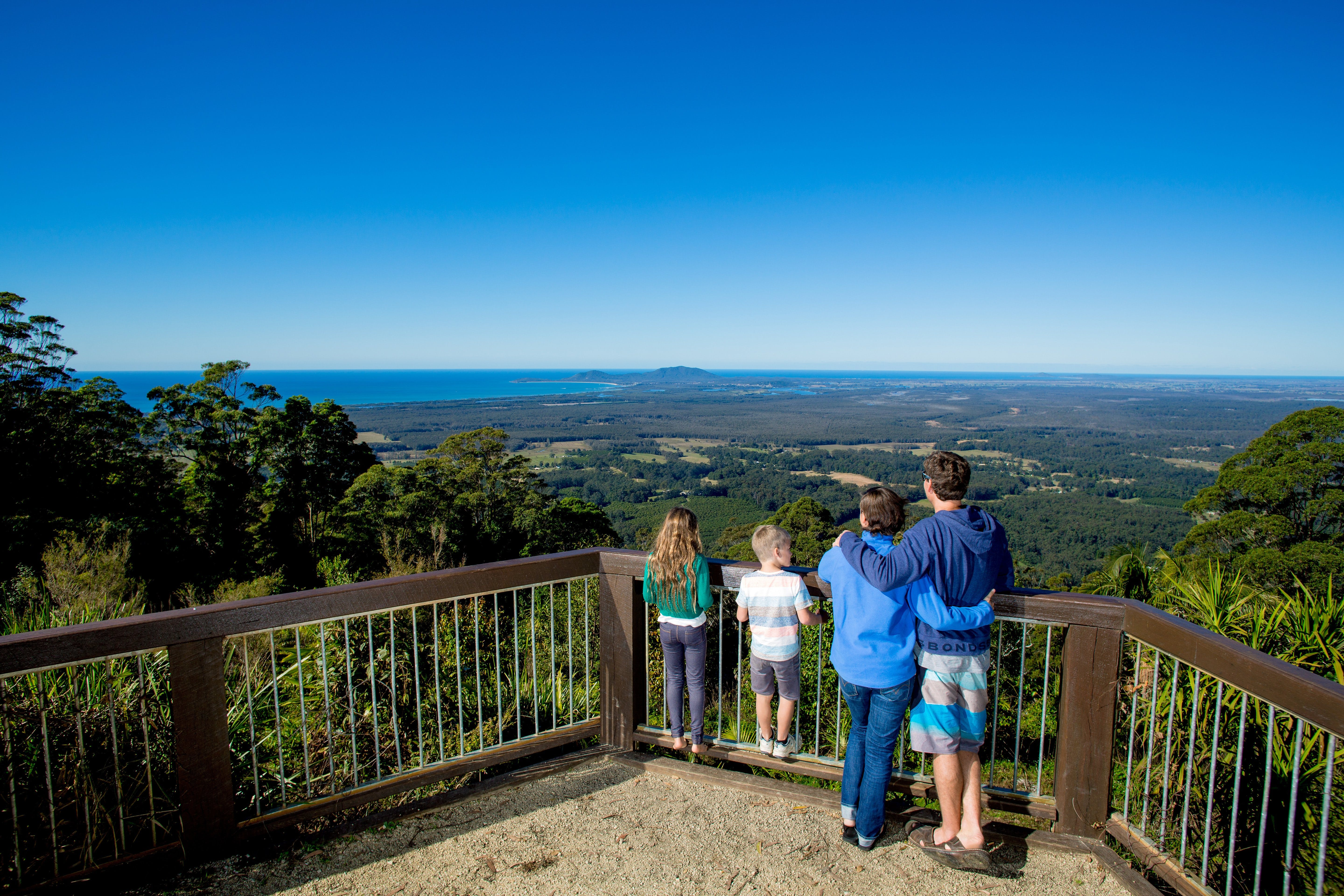 Mount Yarrahapinni Lookout - Accommodation Sydney