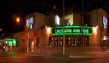 Lincolnshire Arms Hotel - Accommodation Sydney