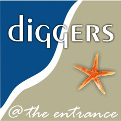diggers @ the entrance