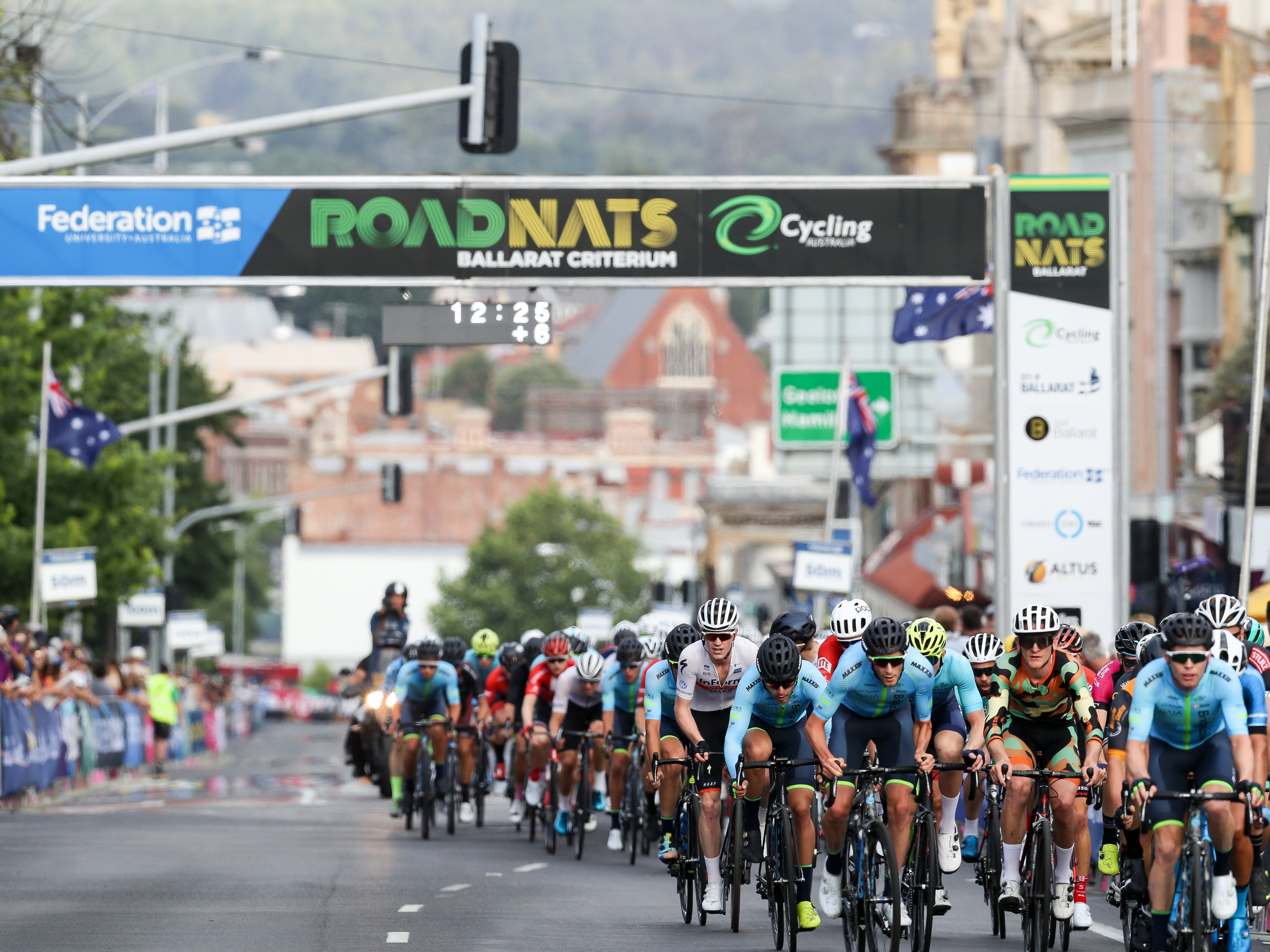 Federation University Criterium National Championships - Ballarat - Accommodation Sydney