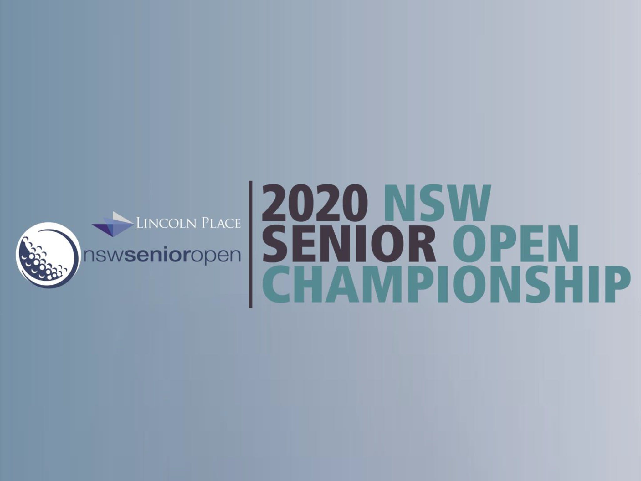 Men's NSW Senior Open - Accommodation Sydney