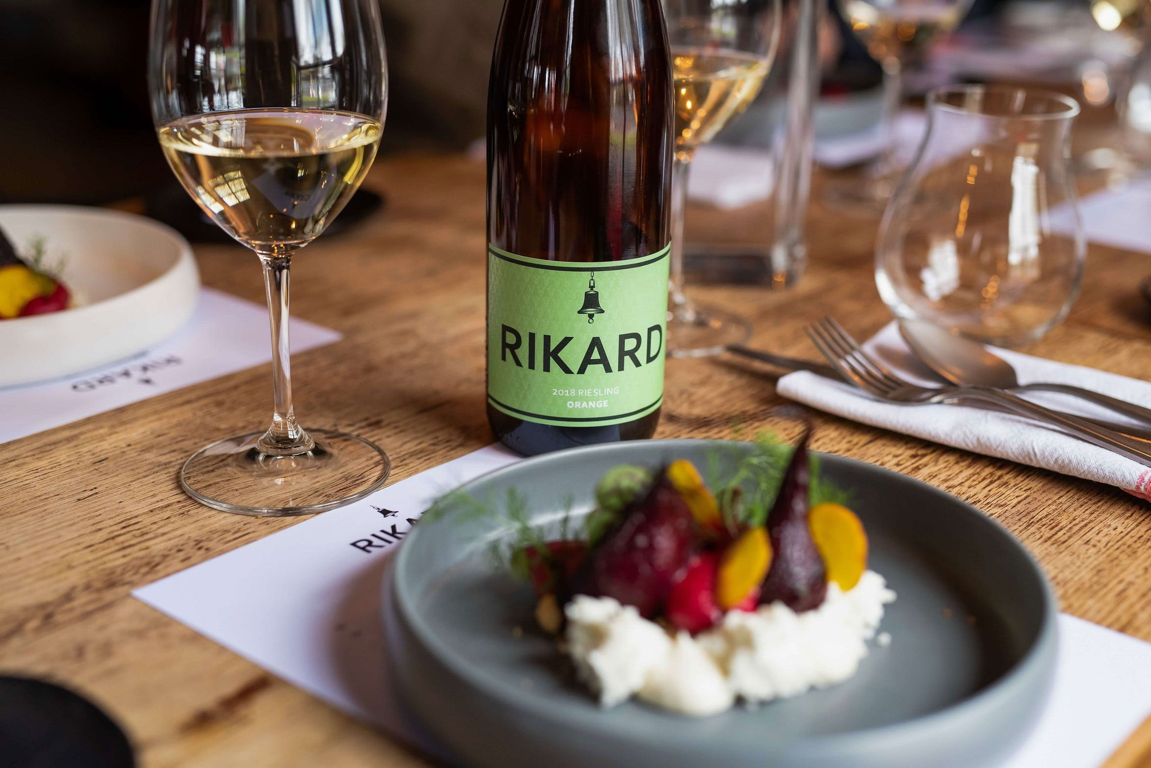 RIKARD Wines at Charred - Accommodation Sydney