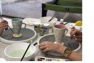 Ceramic Painting Class - Accommodation Sydney