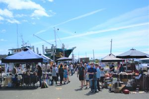 Marine Rescue Ulladulla Wharf Markets - Accommodation Sydney