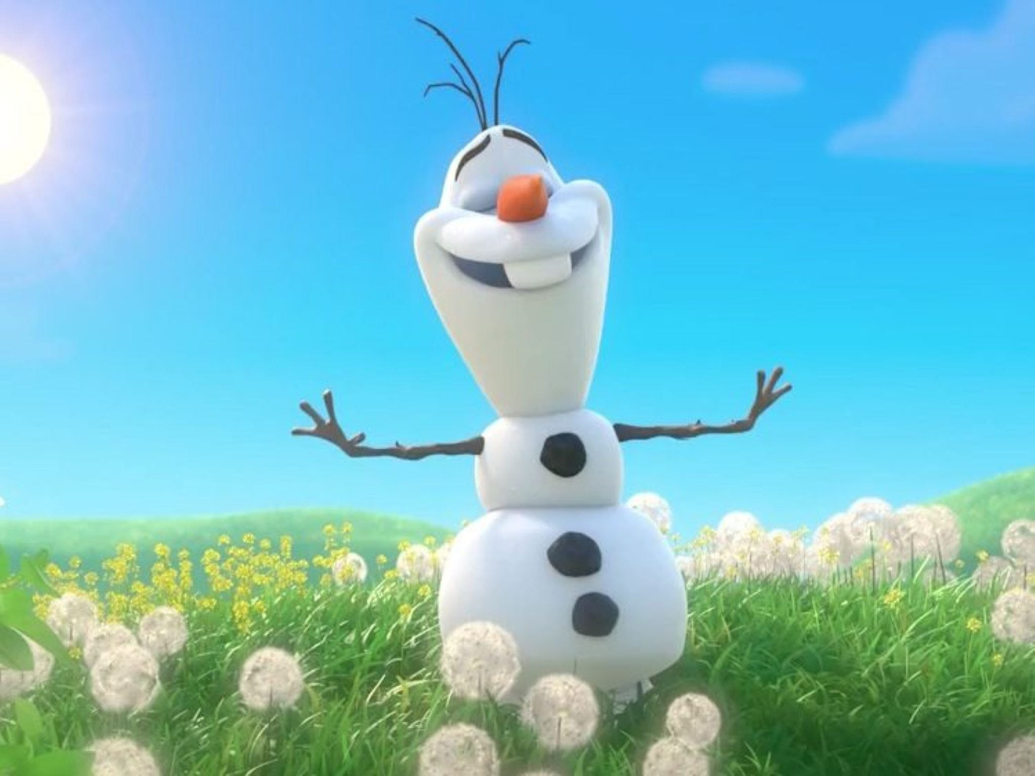 Meet Olaf from Frozen - Accommodation Sydney