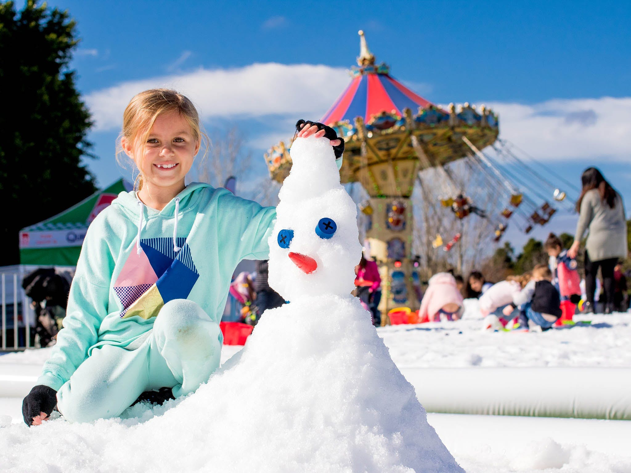 Snow Time in the Garden - Hunter Valley Gardens - Cancelled - Accommodation Sydney