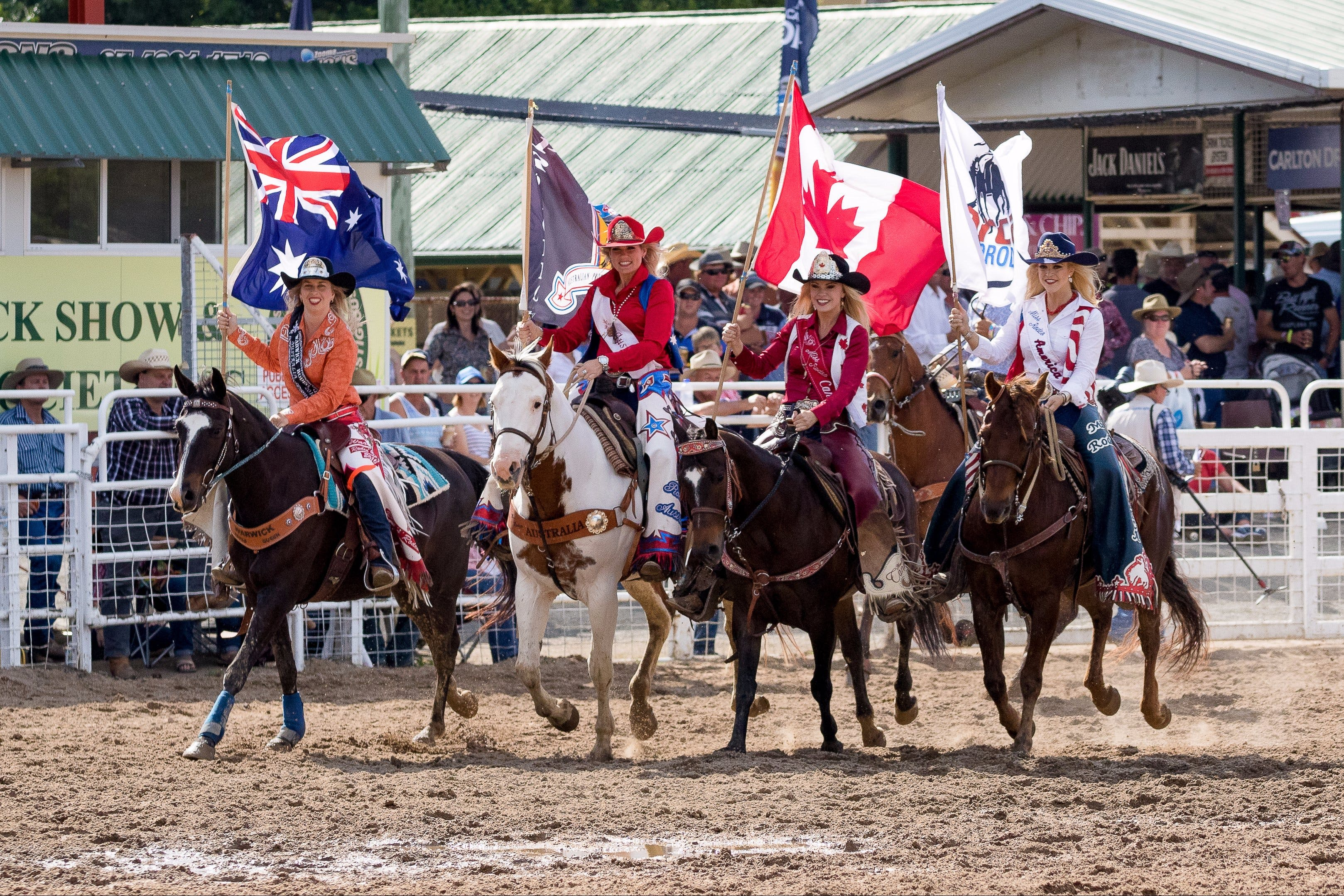 Warwick Rodeo National APRA National Finals and Warwick Gold Cup Campdraft - Accommodation Sydney