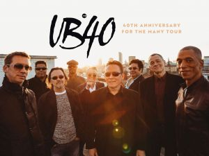 UB40 40th Anniversary Tour - Accommodation Sydney