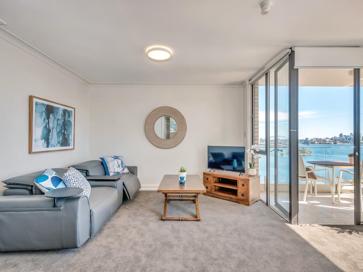Panoramic Harbour Views And Unbeatable Comfort - Accommodation Sydney