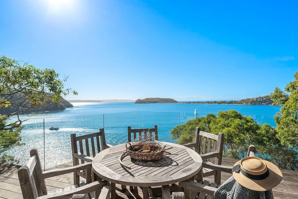 Cape Mackerel Cabin with Magic Palm Beach  Pittwater Views - Accommodation Sydney