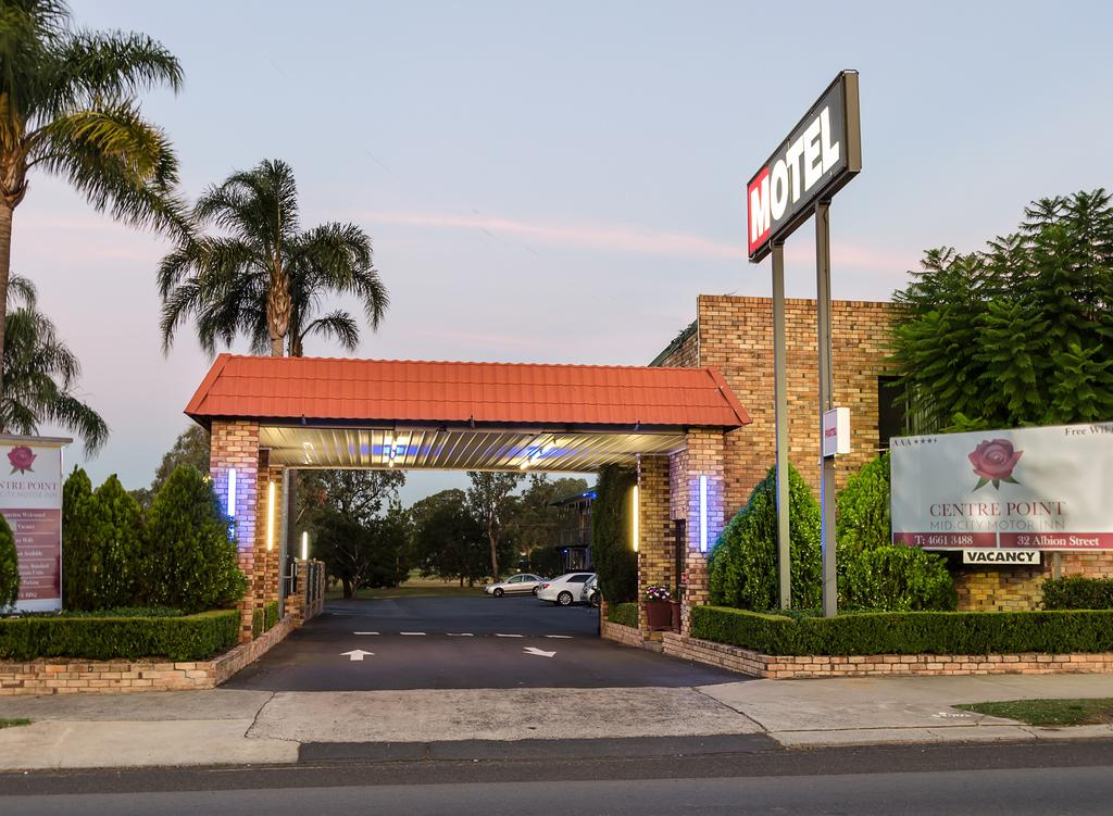 Centrepoint Midcity Motor Inn - Accommodation Sydney