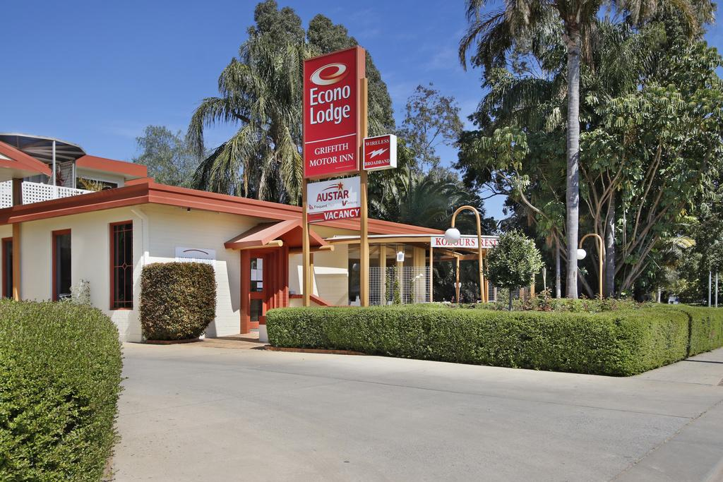 Econo Lodge Griffith Motor Inn - Accommodation Sydney