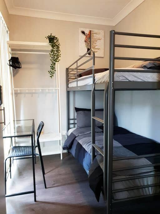 1 Single Bunk Room In Berala Station Private Rm Close Olympic Park - SHAREHOUSE - Accommodation Sydney