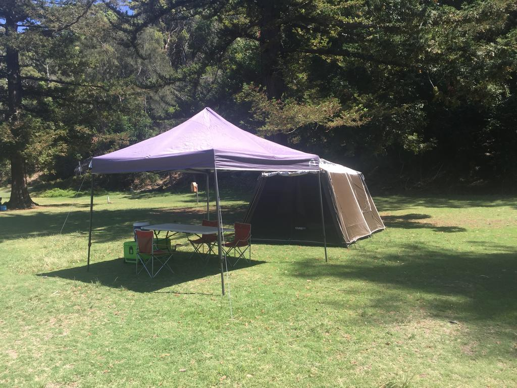 Basin Ku-ring-gai Campsite Set Up - Accommodation Sydney